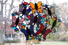 Using up scraps and nuggets - Reasons for my Bleedy Pokes - Gallery - Stained Glass Town Square