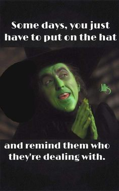 My hat may be invisible, but it is ever present. Remember that before you decide to get on my bad side!