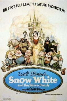 Snow White and the Seven Dwarfs 11x17 Movie Poster (1937) by Punt Dog Posters, http://www.amazon.com/dp/B001XHXCAO/ref=cm_sw_r_pi_dp_DThesb0ZY0GRX