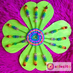 A beautiful shamrock with a colorful rainbow, great for fine motor skills. Happy St. Patrick's Day! www.solecitoschool.com