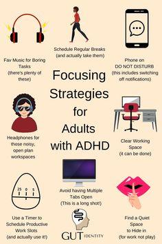 Adhd Brain, Adhd Strategies, Adult Adhd, Time Management Tips, Stress Management, Health Advice, Study Tips, Self Improvement, Personal Development