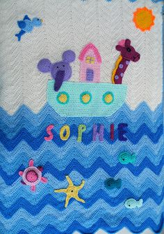 Ravelry: Maryfairy's Sophies's Noah's Ark Blanket Number 6  This lady has some amazing projects, just take a look! ...kerry