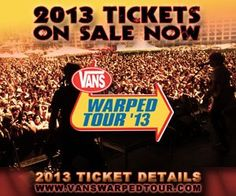 Vans Warped Tour returns to Florida with 2 dates! Fri, July - Vinoy Park in St. Petersburg and July - Cruzan Amphitheatre in West Palm Beach! Upcoming Concerts, Upcoming Events, And July, Warped Tour, West Palm Beach, Music Is Life, Vans, Tours, Pray