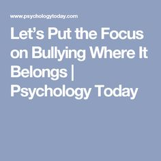 Six Ways to Overcome Childhood Trauma and Stop Self-Sabotage Stop Bullying, Cyber Bullying, Parenting Goals, Single And Happy, Reset Button, Psychology Today, Take The First Step, Trauma, Health And Wellness