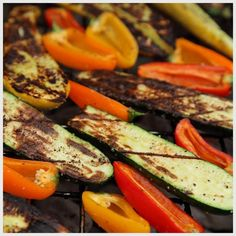 Grilled Veggies and Quinoa Salad