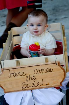 """Uncle Chris, Here comes your bride!"""