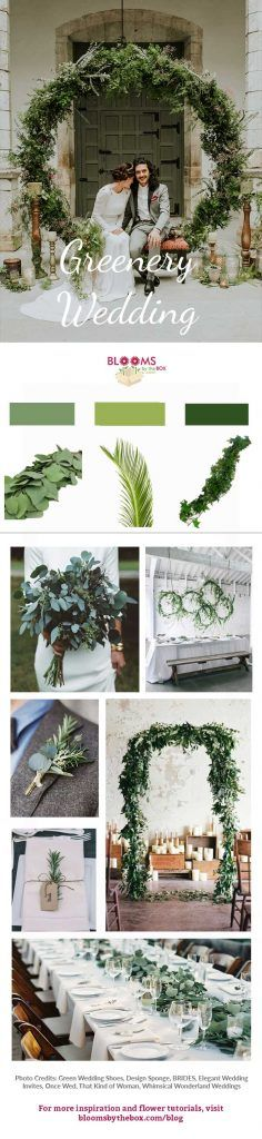 Between loads of lush garlands and eucalyptus wrapped everything, what's not to love about a greenery wedding? We've been seeing greenery at so many weddings this past year and we don't see the trend going anywhere anytime soon. Brides are constantly coming up with unique and innovative ways to incorporate cascading leaves and big branches into their special day.
