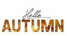Hello Autum #Autum #coldweather