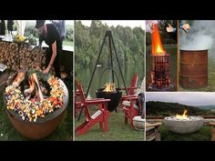 50 DIY Fire Pit Design Ideas, Bright the Dark and Fire the Bored Pregnancy Goals, Pregnancy Cravings, Fire Pit Patio, Diy Fire Pit, Diy 2019, Fire Pit Designs, Nail Art, Fire Bowls, Outdoor Cooking
