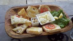 The amazing app tray at Posada Margherita in Tulum. Love their style.