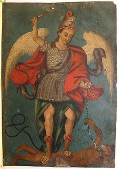 Saint Michael Retablo by Hessee, via Flickr