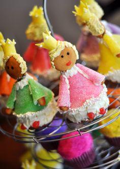 3rd Birthday Princess Cupcakes