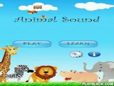 Animal Sound Pro - FREE !!  Android App - playslack.com ,  Animal Sound Pro incl. 3 hidden games!** 30 ANIMALS - 8 LANGUAGES **Animal Sound is the first application that offers your children lots of fun while learning the names of animals and their proper expression in 8 different languages (full version). In addition the children learn to write the names of animals in the game.In the first stage the child can learn the names of animalsincluding the voices and the words on the screen…
