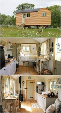15 dreamy shepherd's huts you can rent . - In 15 dreamy shepherd's huts you can rent, -In 15 dreamy shepherd's huts you can rent . - In 15 dreamy shepherd's huts you can rent, - Best Tiny House, Tiny House Cabin, Tiny House Plans, Tiny House Design, Tiny House On Wheels, Tiny House Shed, Tiny House Family, Hut House, Tiny House Village