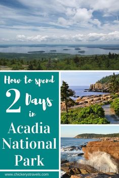 Check out these things to do for the whole family in Acadia National Park in Maine. Highlights include hiking the Cadillac Mountain summit for the sunset. Cadillac, Ludington State Park, Acadia National Park Camping, Us National Parks, Travel Usa, Travel Maine, Travel Inspiration, Travel Ideas, Travel Tips