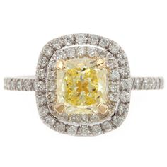 #Yellow #Ring by Susan Peires http://www.fldesignerguides.co.uk/engagement-ring-designer/susanpeires Yellow Diamond Engagement Ring, Yellow Engagement Rings, Designer Engagement Rings, Yellow Wedding, Ring Designs, Jewelry Shop, Wedding Accessories, Bling Bling, Jewelery
