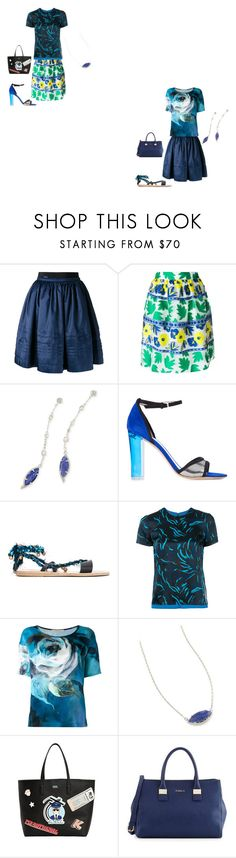 """from chic to beautiful"" by emmamegan-5678 ❤ liked on Polyvore featuring Moncler, P.A.R.O.S.H., Kendra Scott, Monique Lhuillier, Ancient Greek Sandals, Versus, Ermanno Gallamini, Karl Lagerfeld, Furla and modern"