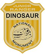 Dinosaur Junior Ranger badge