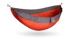 Kammok Roo Hammock - http://DesireThis.com/2859 - The Roo is built for the individual adventurer. Made of a lightweight, tear resistant, and breathable Lunar Wave fabric, the Roo is designed for those no longer wanting to be bound to the ground.