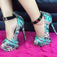 Under $15 Super Deals! Ankle Strap Platform Heels