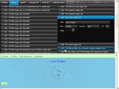 HOW TO CONTROL THE ixt45, ixt46 (CLOCK) WIDGETS :: PrestaShop CPanel by IXThemes 7.0