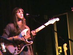 "▶ Lady Lamb The Beekeeper performs ""Crane Your Neck"" at The Big Easy in Portland, Maine - YouTube <3"