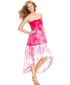 6f6720402022 Raviya Strapless High-Low Cover Up   Reviews - Swimwear - Women - Macy s