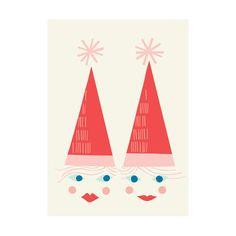 Christmas card Tontut Polkka Jam