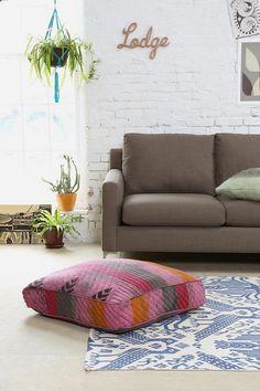 Floor pillows!