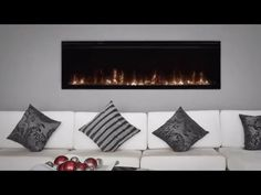 IgniteXL™ stands apart as more lifelike and visually stunning than anything that came before it. With new, patented flame and heat technology, IgniteXL trans. Electric Fireplaces, Wall Mount Electric Fireplace, Dimplex Fireplace, Fireplace Ideas, Living Room Designs, Living Rooms, Florida Home, Couch, Product Review