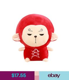 Plush Baby Toys Tv Hwayugi Korean Odyssey Series Goods Monkey King Soft Plush Doll Toy Cute Gift #ebay #Home & Garden