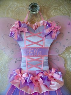 Rapunzel Full Size Custom Boutique Tutu Hair Bow Holder Inspired by Disney…