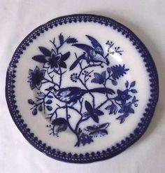 sehr schöner Keramik Teller Villeroy & Boch Fasan blau 18,5 cm um 1860 gebraucht kaufen bei Hood.de