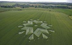Crop Circle at Little Bedwyn, Wiltshire, UK - 3 July 2010