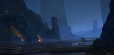 Ancient by Masahiro Sawada on ArtStation. Environment Concept Art, Environment Design, Fantasy Landscape, Fantasy Art, Supernatural, Platinum Games, Indie, Mysterious Places, Cg Artist