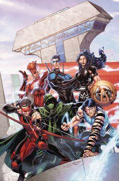 Titans #8 (Cover A Brett Booth & Norm Rapmund) - W.B.