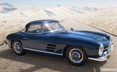 1960 Mercedes-Benz 300SL Roadster #mercedesclassiccars #mercedesvintagecars