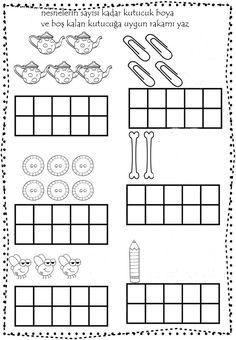 Shape Worksheets For Preschool, Shapes Worksheets, Numbers Preschool, Kindergarten Math Worksheets, Teacher Worksheets, Learning Numbers, Preschool Activities, Simple Math, Teacher Hacks