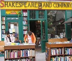 Weekly visits to Shakespeare and Company bookstore