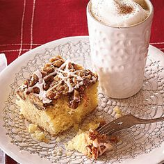 Overnight Coffee Crumble Cake | MyRecipes.com