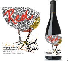 Wine Label Design : Savant Design Studio