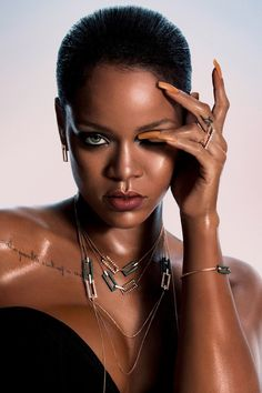 Rihanna Shines Bright Like a Diamond in Her New Chopard Collection