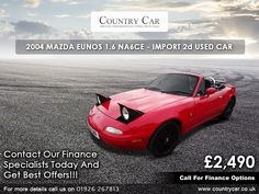 For great deals on used Mazda cars for sale in Warwick, come to Country Car. Mazda Cars, Amazing Cars, Supercar, Car Ins, Used Cars, Cars For Sale, Classic Cars, Automobile, Finance