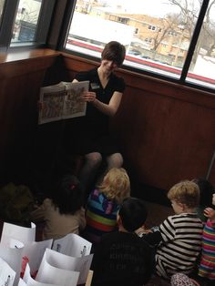 Had a great time at Meatheads in Lincolnwood's Story Hour hosted by the Lincolnwood Library 3/9/14. #reading #community #family #fun #community #education
