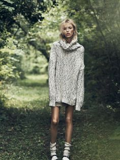 Anja Rubik By Lachlan Bailey For Vogue Paris October 2014