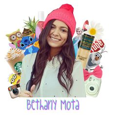 Basically a collage of girly things, with a big picture of Bethany Mota slapped right in the middle because she's the queen of girly girls.
