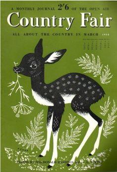 John Hanna, Australian cover-illustrator of Country Fair magazine