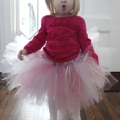 Rachael Rabbit: Tutu Tutorial (Part 1): No Sew Tulle Tutu