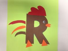 free letter R craft                                                                                                                                                                                 More