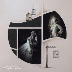 Scrapbook Templates, Scrapbooking Ideas, Photo Retouching, Polaroid Film, Week End, Pop Up, Blog, Antique Pictures, Creative Crafts